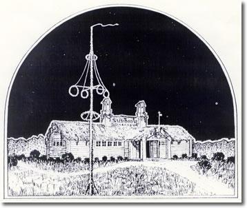 Midsommar på landet 1913
