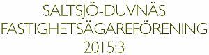 Programblad utdelat 9-10 maj 2015