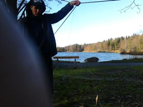 Kommunen mäter fiskebeståndet i Långsjön