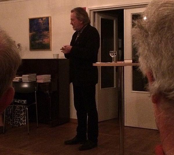 Litterär afton med Niklas Rådström