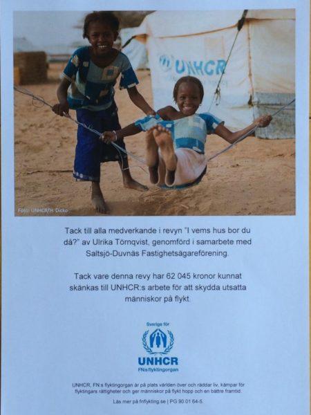 Diplom från UNHCR
