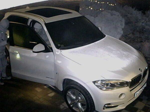 BMW instrumentpanel demonterades på Älgvägen